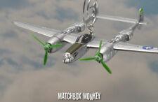 "Richard Bong P-38 Lightning ""Down Beat"" USAF WWII MC Christmas Ornament Aircraft"