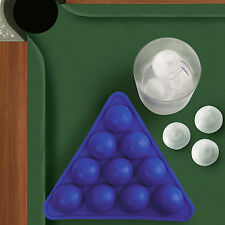 Gama-Go Cool Pool - Silicone Billiard Ball Ice Sphere Mold / Cube Tray