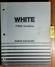 WFE White Oliver Cockshutt 7300 Combine Parts Catalog Manual 448 069A 4/77
