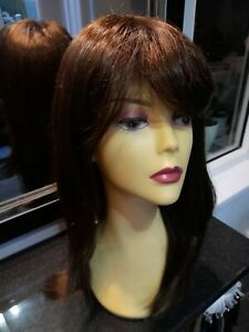 """Hothair wigs """" ATTENTION - PETITE """" Chocolate Copper."""