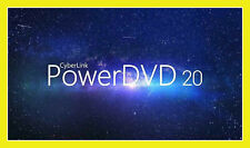 ✔ PowerDVD 20 ULTRA Cyberlink NEW 4k 8k Playback Original Full Version Latest ✔