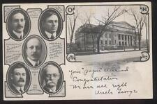 Postcard COLUMBUS Ohio/OH  Building Supply Co Owners Promo Ad 1907