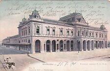 URUGUAY - Montevideo - Estacion Central F.C.C.U. 1905