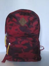 Aeropostale Unisex Red Camo Army Camouflage  Backpack/Bookbag Laptop Bag