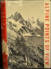 ALPINE POINTS OF VIEW Collomb 1961 Alpes Maritimes to Engadine. Alps Mountaineer