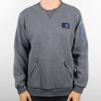 Vintage ADIDAS ORIGINALS Grey Sweatshirt Jumper   Retro Trefoil   XL