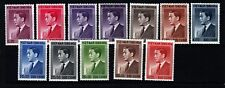 South Viet Nam Sc 39-50 NH issue of 1956 - President Diem