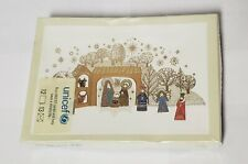 Unicef Christmas Holiday Nativity Cards with Envelopes, 12 Count