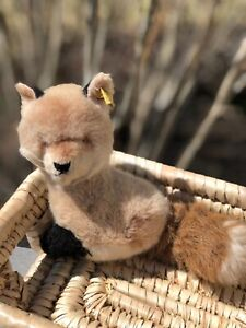 vintage Steiff fox plush