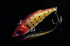 1pc VIB 8cm/11.8g Fishing tackle 6# Hook peche Lure Wobblers bait bass  NEW