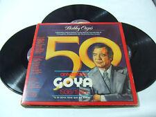 Bobby Capó–50 Aniversario Goya 1936/1986 -Disco Vinile (Triplo) 33 Giri LP Album
