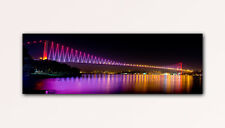120x40cm WANDBILD XXL BOSPORUS BRIDGE ISTANBUL TÜRKEI PANORAMBILD LEINWAND
