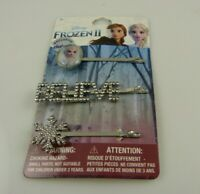 Disney Frozen 2 Barrettes Hair pin bling crystal Believe Elsa snowflake