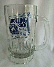 """Rolling Rock Glass Beer Mug """" Blue Print Extra Pale"""" Official Mug"""