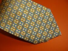 HERMES  silk tie.  'H' design   NEW with box