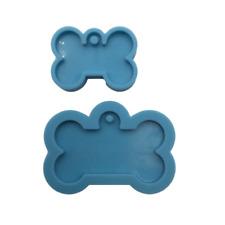 Shiny Dog Mold Set of 2 Silicone Mold for Epoxy Resin Crafts