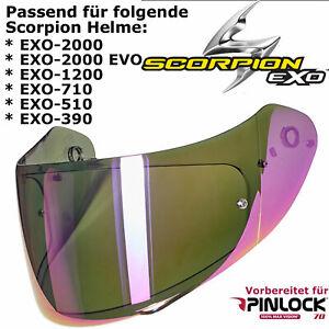 SCORPION Visier 3D KDF14-3 VIOLETT für EXO 2000 / 1200 / 710 / 510 / 410 / 390