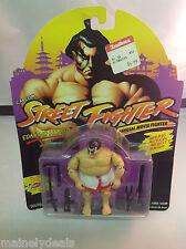 1993 GI G.I. JOE Capcom Street Fighter movie EDMOND HONDA MOSC Hasbro MOC