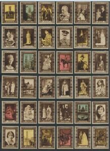 Great Britain King George VI 1937 Coronation Souvenir Label Set of 60 MNH