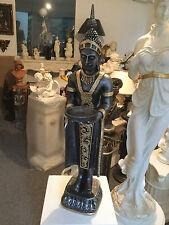 Buddha Groß 74 cm Silber Gold Feng Shui Statue  Figur Garten Deko Wetterfest