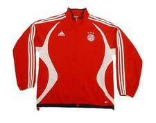 """Adidas Bayern Munich Tracksuit Top (M) 40-42"""" Red Track Top Jacket"""