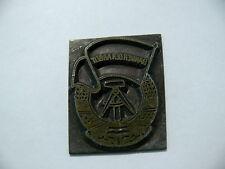 BANNER der ARBEIT Stempel Druckstempel DDR Orden Flagge Fahne Wappen NVA Durcker
