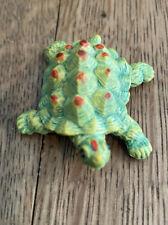 Super Cute Small Turtle Toy Plastic Figurine Tiny Reptile Collectible Home Decor