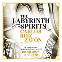 CARLOS RUIZ ZAFON LABYRINTH OF THE SPIRITS MP3 ON  CD AUDIO BOOK NEW SEALED