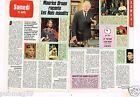 Coupure de presse Clipping 1987 (2 pages) Maurice Druon les Rois Maudits