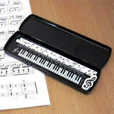 Music Themed Stationery Pencil Case Set - 5-Piece Set