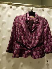 i.e. Vintage Style Embroidered Peplum Jacket - Small - NWT