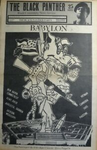 Black Panther Party Newspaper ,Volume IV, No.25 & 26, May 31, 1970, VINTAGE