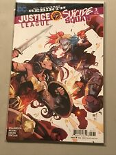 JUSTICE LEAGUE SUICIDE SQUAD #3 HARLEY QUINN WONDER WOMAN joe madureira variant