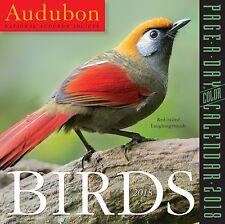 AUDUBON BIRDS - 2018 DAILY DESK CALENDAR - BRAND NEW - NATURE 100074