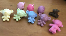 Littlest Pet Shop Tiny Accessories Teddy Bears Toy Mice Mouse & Monkey