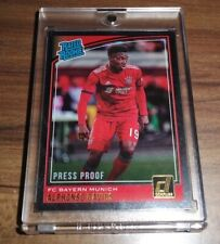 2018-19 Donruss Alphonso Davies Press Proof Silver Rookie RC RARE PSA 10?