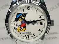 Vintage Titus Analog Dial Mens Mechanical Handwinding Wrist Watch VG240