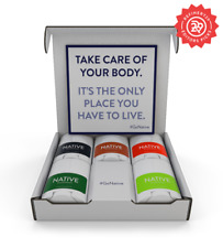 Native Deodorant Travel Sample Pack For Men Aluninium Free 5 Pack