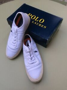 Chaussures Sneakers POLO RALPH LAUREN T 42 uk 8 US 9D Blanches