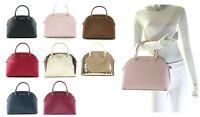 NWT$378.00 - Michael Kors Emmy Large Dome Leather Satchel Shoulder Handbag