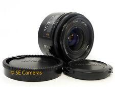 MINOLTA AF 28mm F2.8 Wide Lens MINOLTA/SONY A * Eccellente ALPHA condizioni *