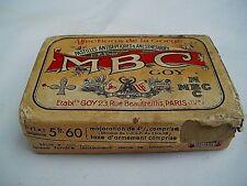 Boite CARTON médicaments TIN BOX FRENCH COLLECTOR