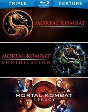 Mortal Kombat + Mortal Kombat Annihilation + Mortal Kombat Legacy Blu-ray Reg B
