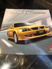 Mitsubishi Lancer 2010 Japanese Edition Genuine Sales Brochure