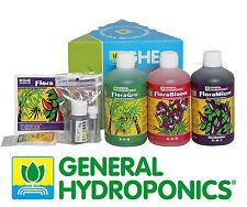 Kit fertilizzanti per idroponica TRIPACK FLORA SERIES General Hydroponics GHE
