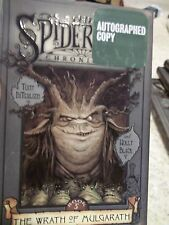 The Spiderwick Chronicles The Wrath of Mulgarath #5 Autograped Copy DiTerlizzi