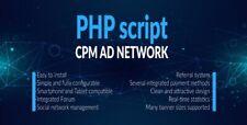 PHP Script- CPM Ad Network