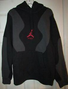 Off-White X Jordan Black Hoodie Sweatshirt Size Large Brand New $300