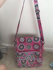 Vera Bradley Cupcake Pink Crossbody Messenger Bag
