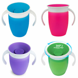 Munchkin Miracle 360 Trainer Leak Proof Sippy Cup BPA Free 207ml 6 Months +